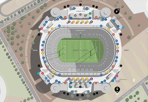 2017 ANZ Stadium Map